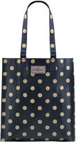Cath Kidston Button Spot Bookbag with Gusset