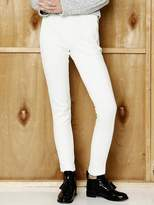 Wardrobe Zipper Leggings Pants_white