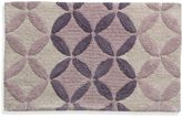 Bed Bath & Beyond Lacey Purple Monochromatic Circle Bath Rug