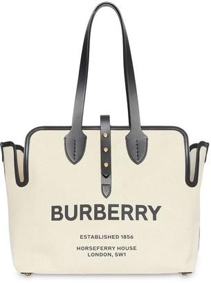 Burberry The Medium Soft Cotton Canvas Belt Bag