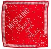 Moschino Silk Printed Scarf