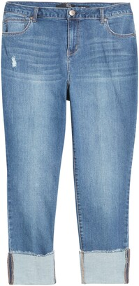 1822 Denim Deep Roll Cuff Jeans