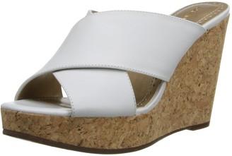 Adrienne Vittadini Footwear Women's Clem Wedge Sandal