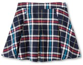 Girls' Say What? Plaid Pattern A-Line Skirt - Multicolored L