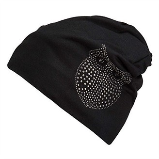Actorstion Stylish Unisex Baggy Beanie Slouchy Crease Knit Beanie Baggy Skull Cap Hat