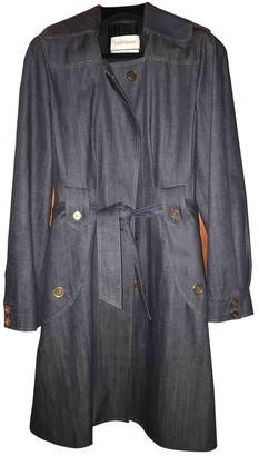 Saint Laurent Blue Denim - Jeans Trench Coat for Women