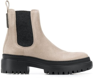 Brunello Cucinelli Low Platform Boots