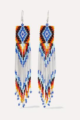 Jessie Western - Bead Earrings - White