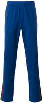 MSGM striped laterals track pants - men - Cotton/Spandex/Elastane - 46