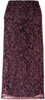 Roseanna 'Arty' skirt - women - Silk/Polyamide/Viscose - 38
