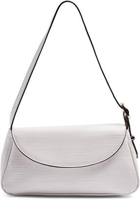 Topshop Eve Faux Leather Shoulder Bag