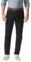 Dockers Alpha Slim Fit Twill Trousers, Black