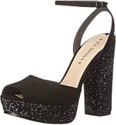 Via Spiga Varsha Women US 7.5 Black Platform Sandal