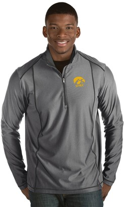 Antigua Men's Iowa Hawkeyes Tempo Pullover