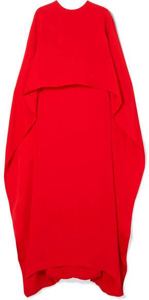 Stella McCartney Layered Crepe Gown