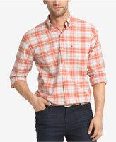 Izod Men's Plaid Long-Sleeve Shirt