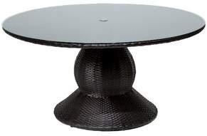 Tegan Sol 72 Outdoor Wicker/Rattan Dining Table Sol 72 Outdoor