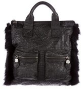 Thomas Wylde Faux Fur Trim Tote