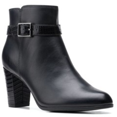 Clarks Collection Women's Alayna Juno Booties Women's Shoes