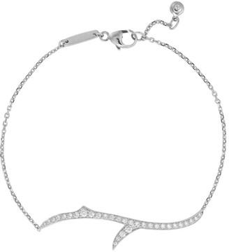 Stephen Webster White Gold Diamond Thorn Stem Bracelet