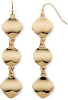 Liz Claiborne Gold-Tone Linear Earrings