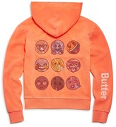 Butter Shoes Girls' Embellished Emoji Hoodie - Sizes 4-6