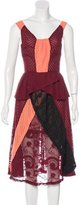 Michael Van Der Ham Sleeveless Patterned Dress
