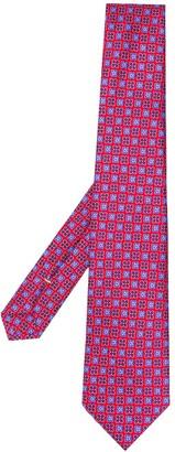 Canali Micro-Print Tie