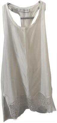 Faith Connexion White Silk Top for Women