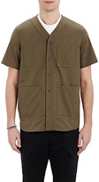 Oamc Men's 4-Pocket Shirt-Green Size M