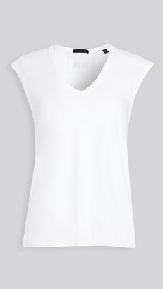 ATM Anthony Thomas Melillo Vintage Jersey Sleeveless Tee