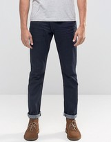 Wrangler Larston Slim Tapered Jeans In Rinse Wash