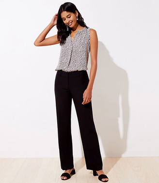 LOFT Tall Doubleweave Trousers