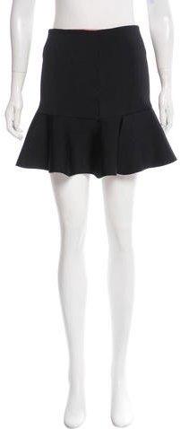 Issa Knit Flare Mini Skirt
