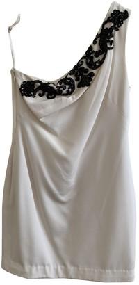 Marchesa White Silk Dress for Women