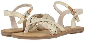 Toms Lexie (Black Canvas/Geometric Woven) Women's Sandals