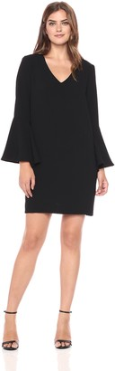 Karen Kane Women's Madeline Bell Sleeve Dress