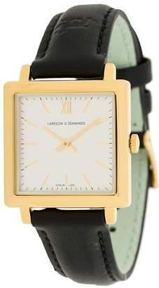 Larsson & Jennings Sloane round-face watch