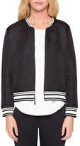 Willow & Clay Women's Athletic Bomber Jacket