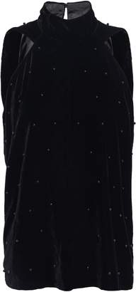 RtA Embellished Velvet Top