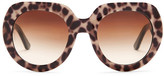 Dolce & Gabbana Women's Special Project Oversized Acetate Frame Sunglasses