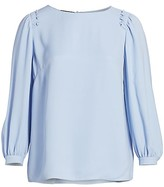 Thumbnail for your product : Lafayette 148 New York, Plus Size Albright Silk Blouse