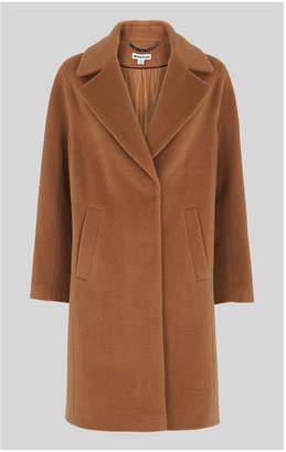 Whistles Mara Drawn Cocoon Coat