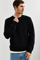 Uo Black Classic Crewneck Sweater