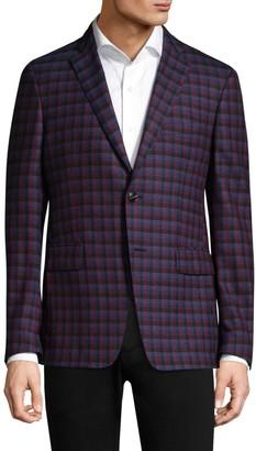 Etro Check Wool Jacket