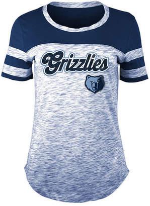 5th & Ocean Women Memphis Grizzlies Space Dye T-Shirt