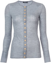 Balmain button-embellished cardigan
