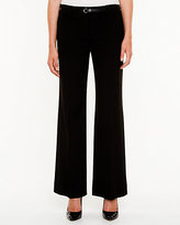 Le Château Stretch Flare Leg Belted Pant