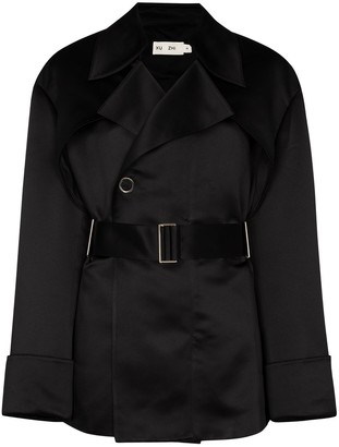 Xu Zhi Belted Trench Jacket