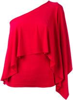 Plein Sud Jeans one shoulder top - women - Spandex/Elastane/Viscose - 38
